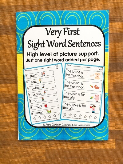 Sách Very First Sight Word Sentences + file nghe